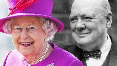 Photo of Королева Елизавета II и Уинстон Черчилль