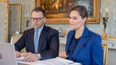 Photo of Кронпара Швеции перешла на удаленную работу: фото из дворца и реакция шведов