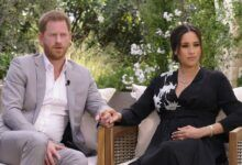 Гарри и Меган дают интервью Опре